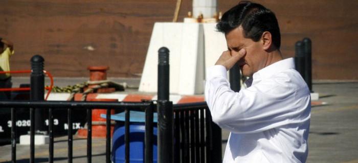 Si el presidente de México perdió el piso es porque se encontraba en las nubes