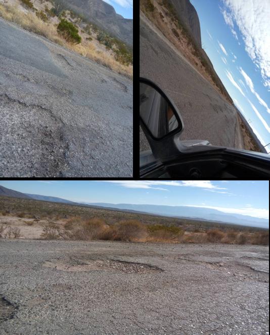 En estas condiciones se encuentra la carretera San Pedro-Sierra Mojada. ¿Dónde está la inversión que dice el gobernador haber hecho para darle mantenimiento?