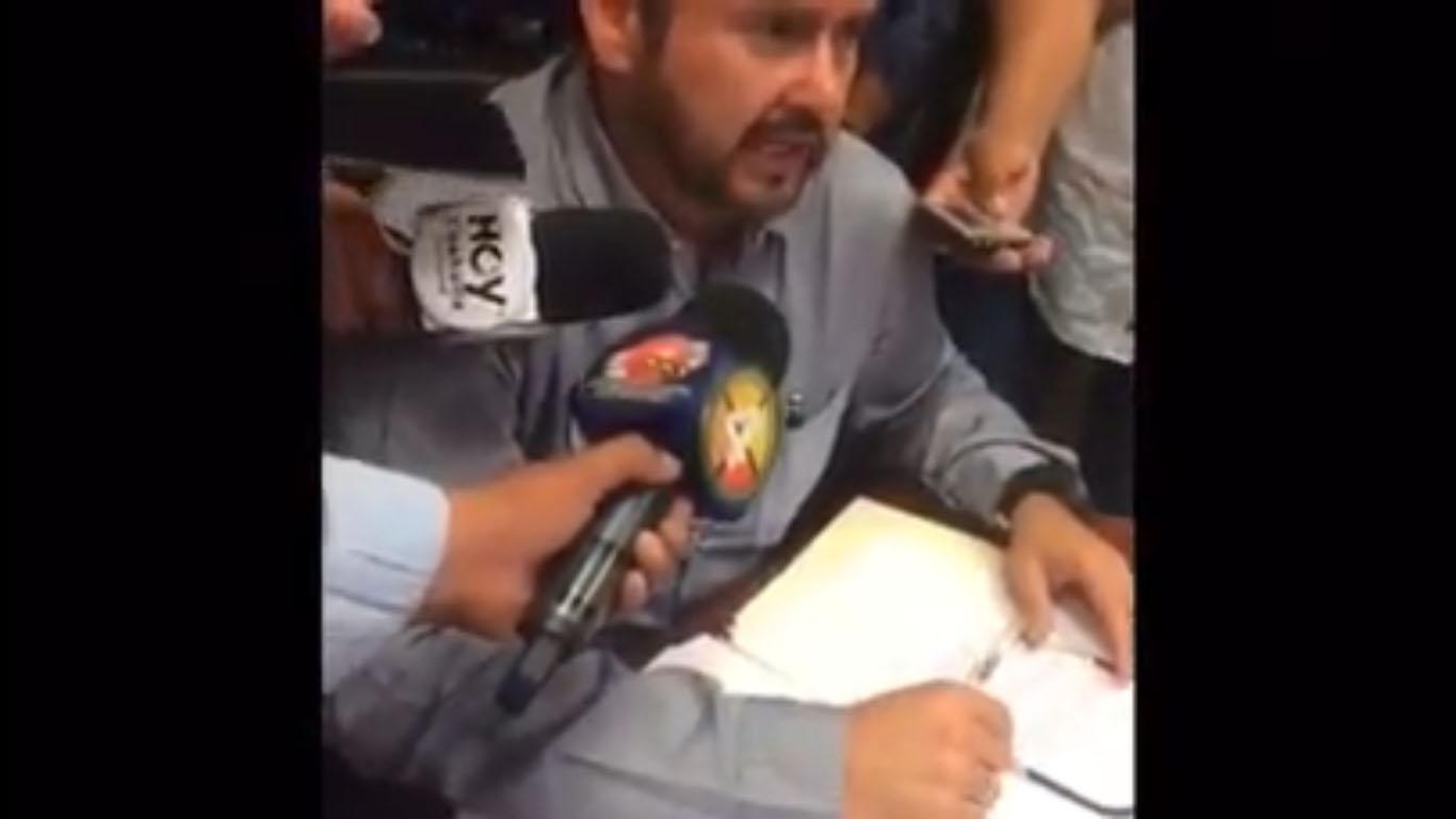 (Video) Alcalde de Monclova acusa directamente a Memo Anaya de mafioso y corrupto… Intentaron extorsionarlo
