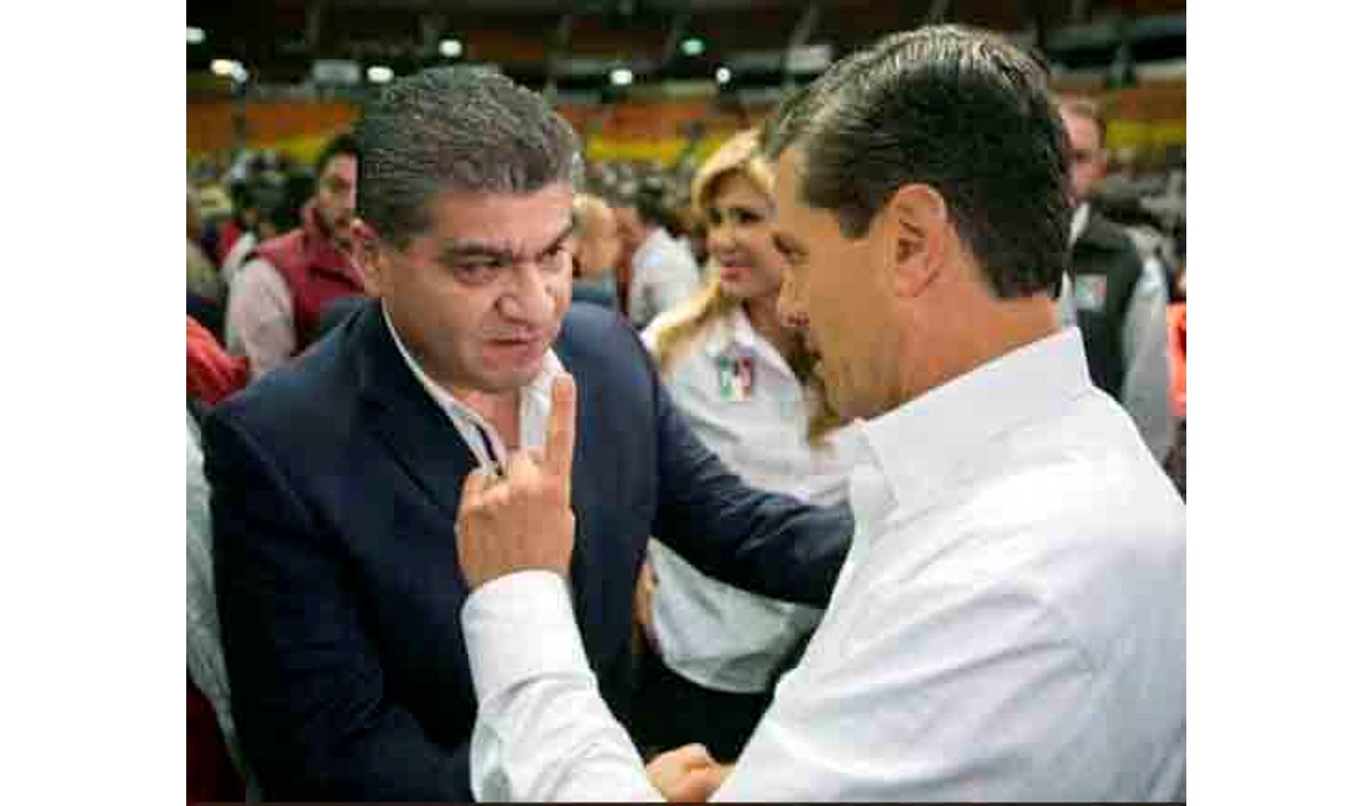 Riquelme pidió a Peña Nieto que acabara con eso de la anulación